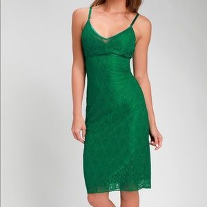 NWT Lulus Lace Dress